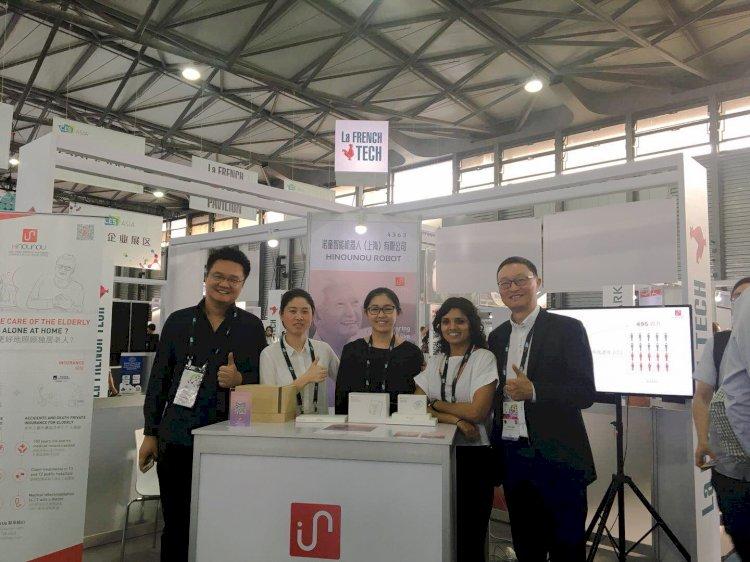 HiNounou attends CES Asia 2018