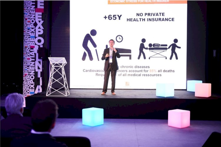 HiNounou's Charles Bark talks about the Future of Health at Singularity University