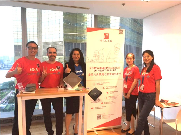 HiNounou在拜耳Grants4Apps上海2017加速计划中获胜