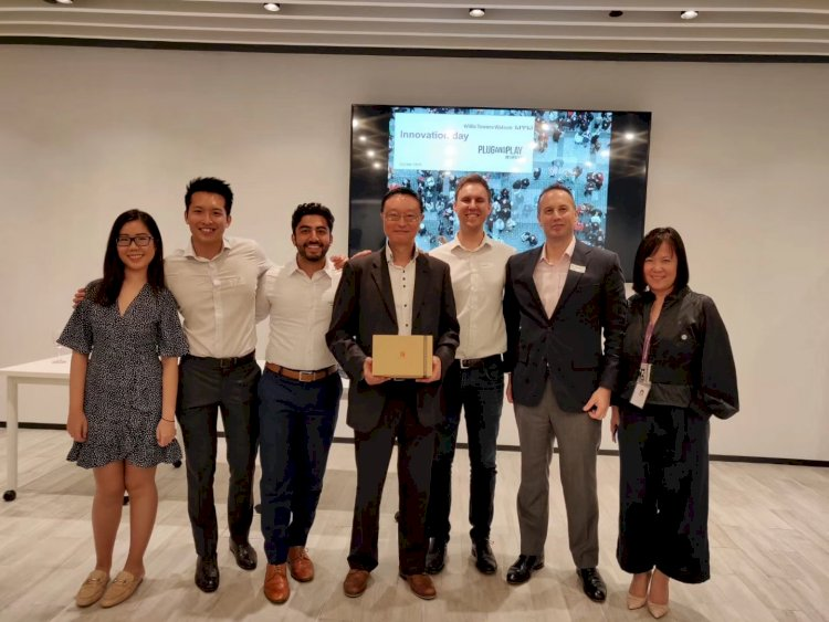 HiNounou won insurTech award at Willis Tower Watson Innovation Day