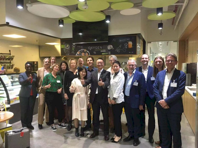 HiNounou visited by Dutch Digital Health Innovation Delegation