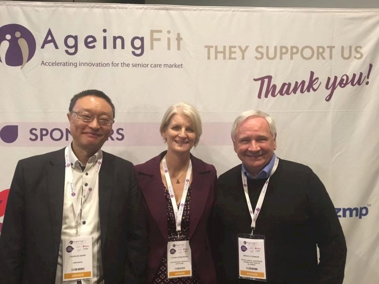 HiNounou Founder & CEO Speaks at AgeingFit 2020:  How to Scale up Senior Care Innovations?